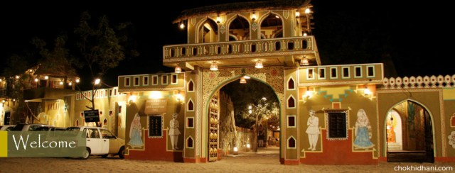 Rajasthani culture and food at Chokhi Dhani