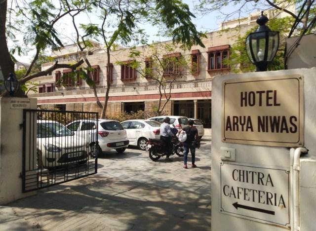 Arya Niwas budget hotels in jaipur