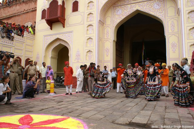 teej festival celebrated