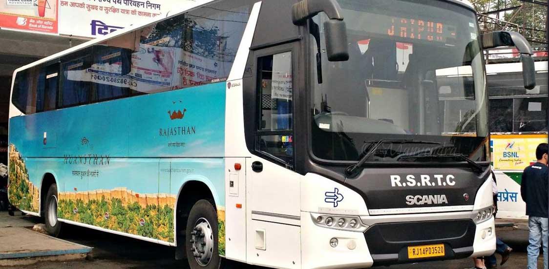 Rajasthan State Roadways luxury buses