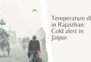 Cold alert in Jaipur