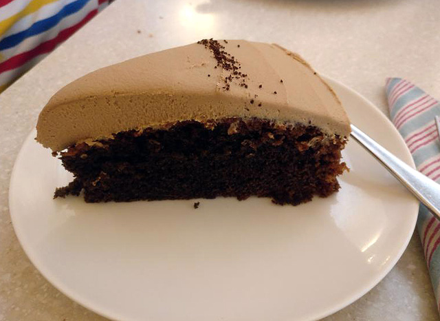 Coffee Cake at Anokhi Cafe