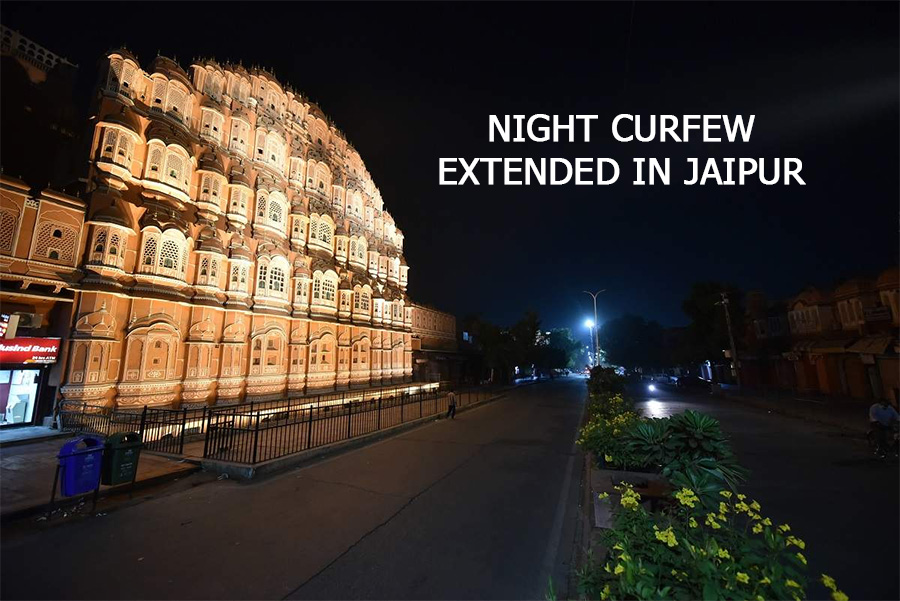 night curfew in jaipur