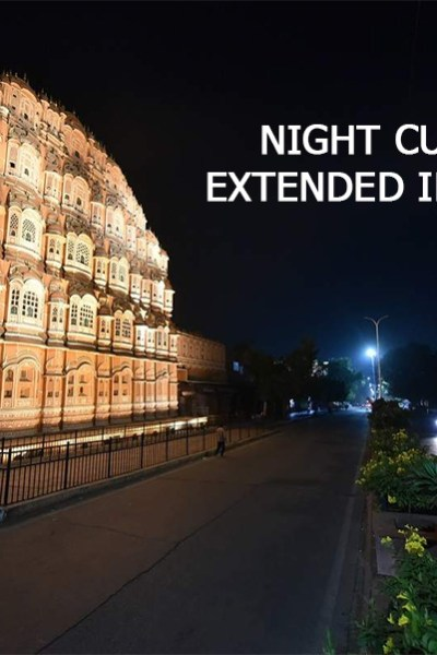 night curfew in jaipur
