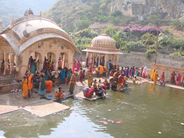 Galta Ji Temple in Jaipur