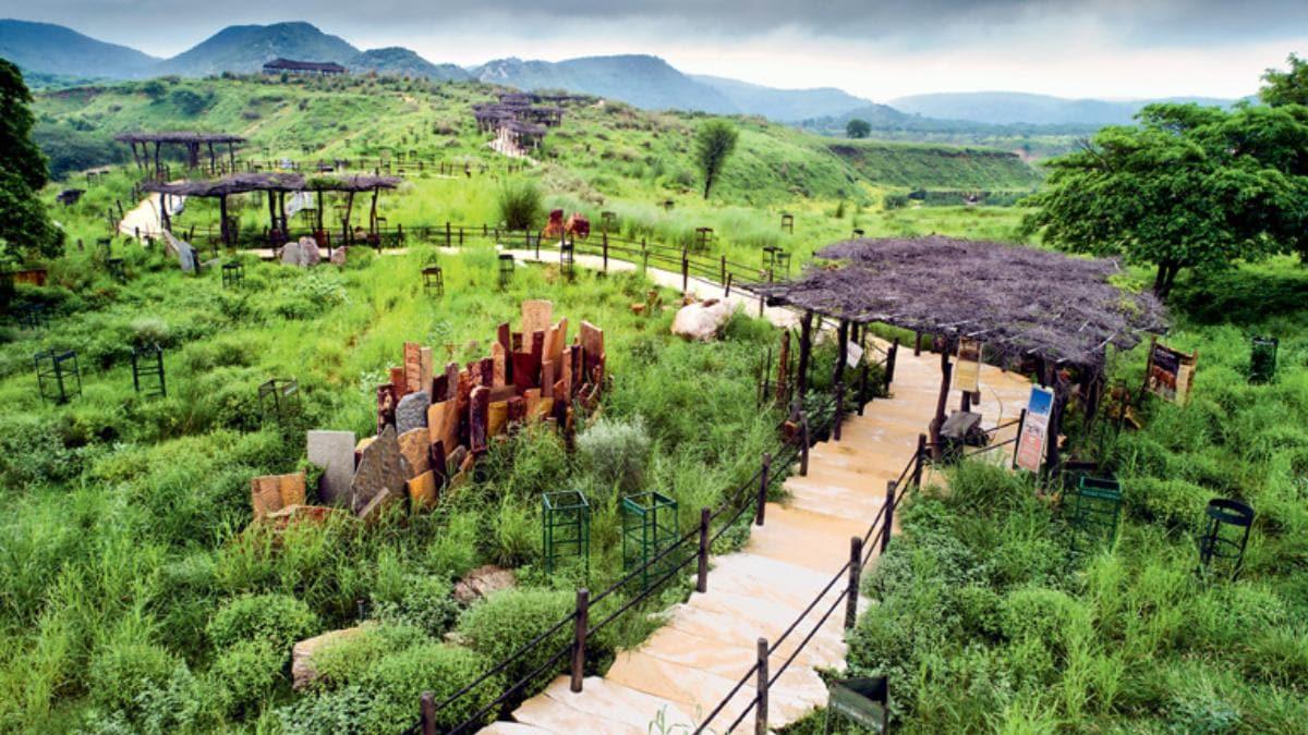 desert park in Jaipur