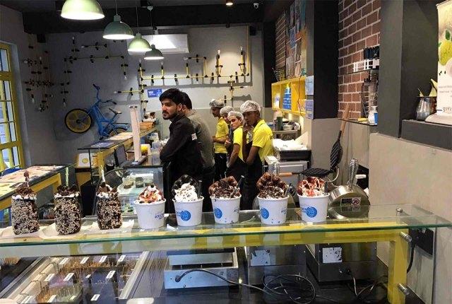 ice cream factory shahi durbar jaipur rajasthan