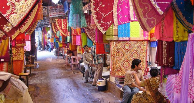 Best Jaipur Saree markets