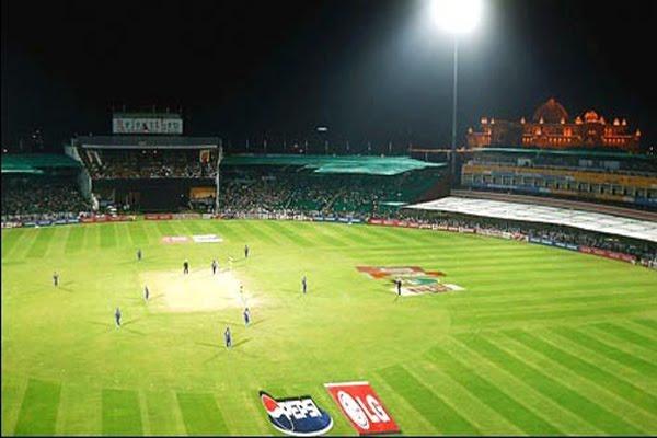 International cricket at SMS stadium