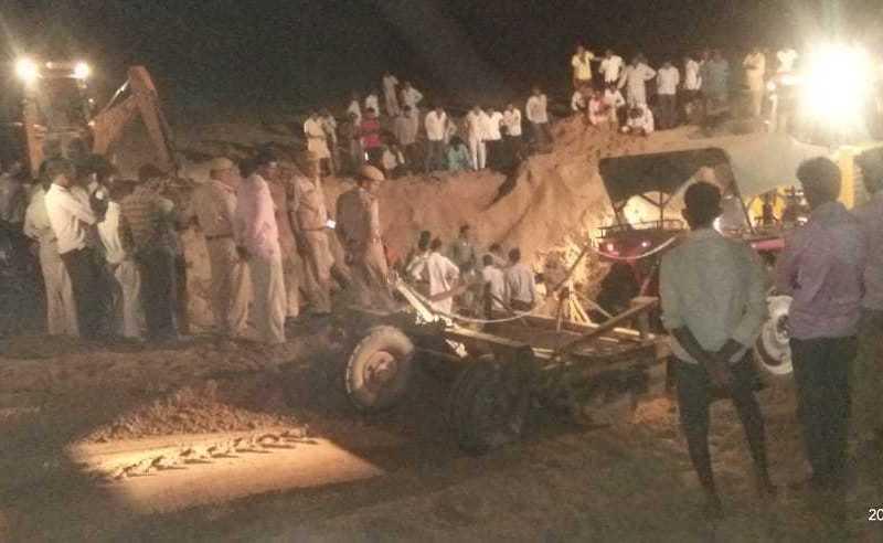 open well causality in mohangarh jaisalmer