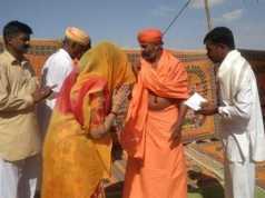 Chitra Singh at shaheed rajendra singh home