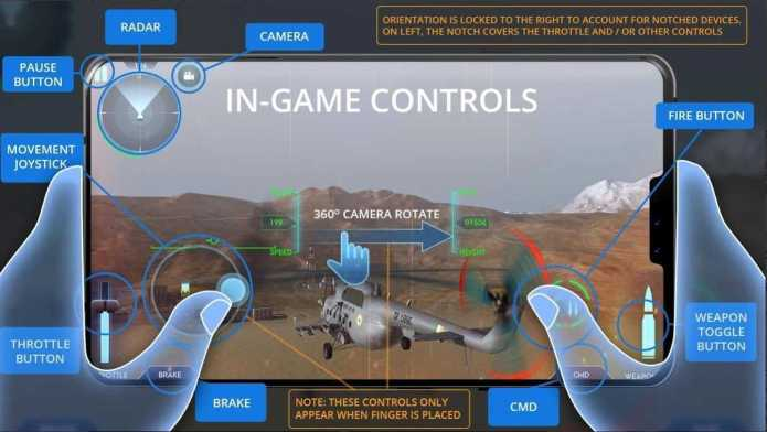 IAF GAME CONTROL