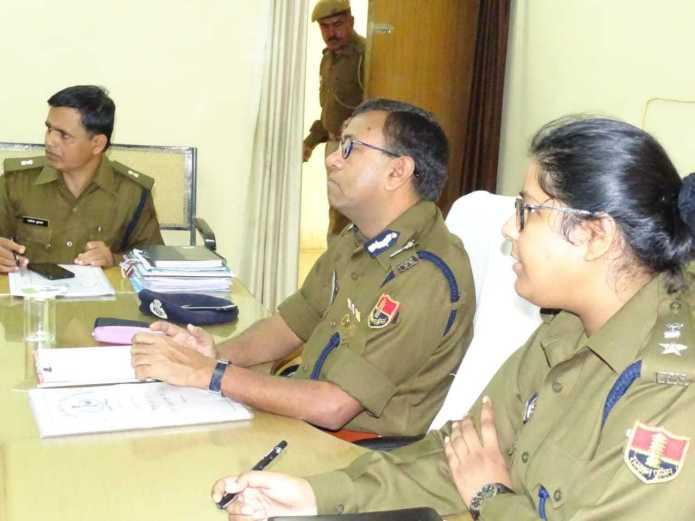 प्रभारी जोधपुर रेंज अतिरिक्त महानिदेशक पुलिस, सिविल राईट्स एवं एएचटी, राजस्थान, जयपुर द्वारा जिला जैसलमेर का विजिट 2