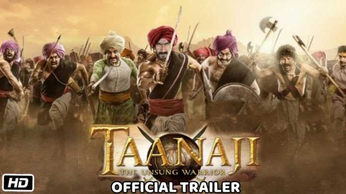 Tanhaji- the unsung warrior official trailer Realese