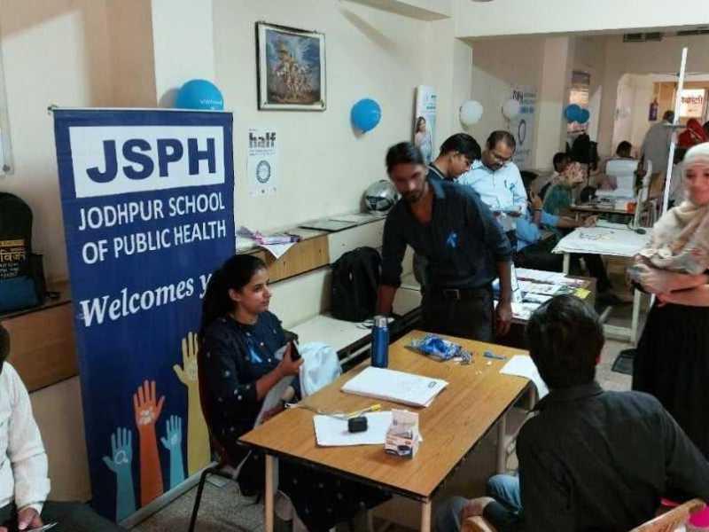 Free health camp in Jodhpur Satyam Hospital by JSPH