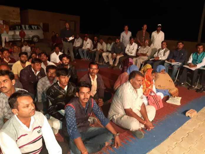 ग्रामीणों के लिए वरदान साबित हुई खुहड़ी की रात्रि चौपाल 1