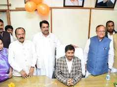 Harivallabh Kalla takes charge as Jaisalmer Municipal Council Chairman
