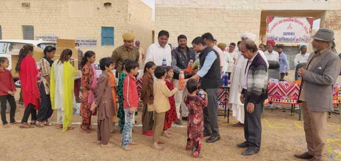 जिला कलक्टर ने छत्रैल स्कूल से किया जैसलमेर जिले में 'जल सुधा' नवाचार का आगाज 1