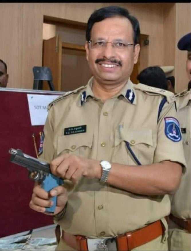 Encounter Specialist CV Sajjnar Hyderabad Police