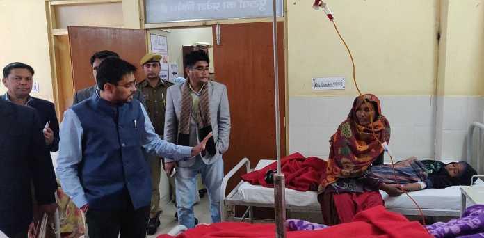 jaisalmer collector ias namit mehta inspected jawahir hospital