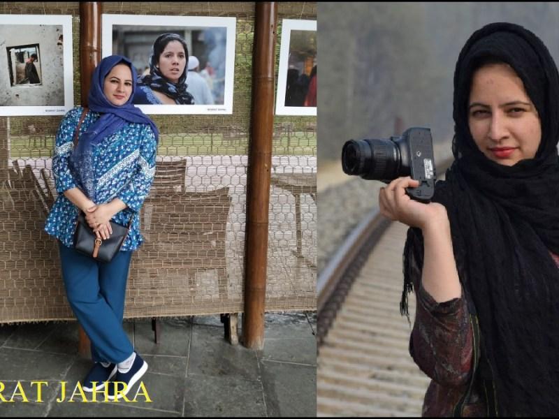 Masrat Zahra Photo Journalist Jammu Kashmir