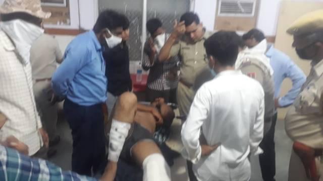 पोकरण में फर्स्ट इंडिया न्यूज़ के पत्रकार सांवलदान रतनू पर जानलेवा हमला 1