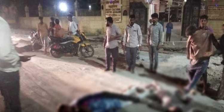 Dangerous Bike Accident in Jaisalmer