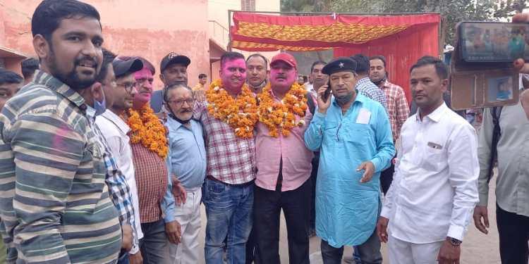 Jayanarayan Bissa becomes president of Bikaner Press Club