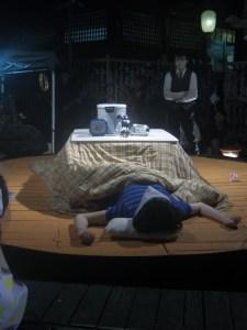 劇団べれゑの演目も場違いな感じでおもしろかった