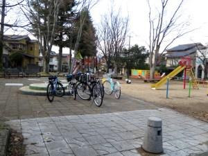 図書館近くの公園(色彩が正しく捉えられている)