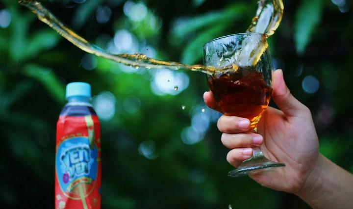 Jajanbeken ichitan yen yen minuman penghilang rasa pedas