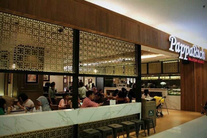 jajanbeken papparich senayan city malaysian cuisine
