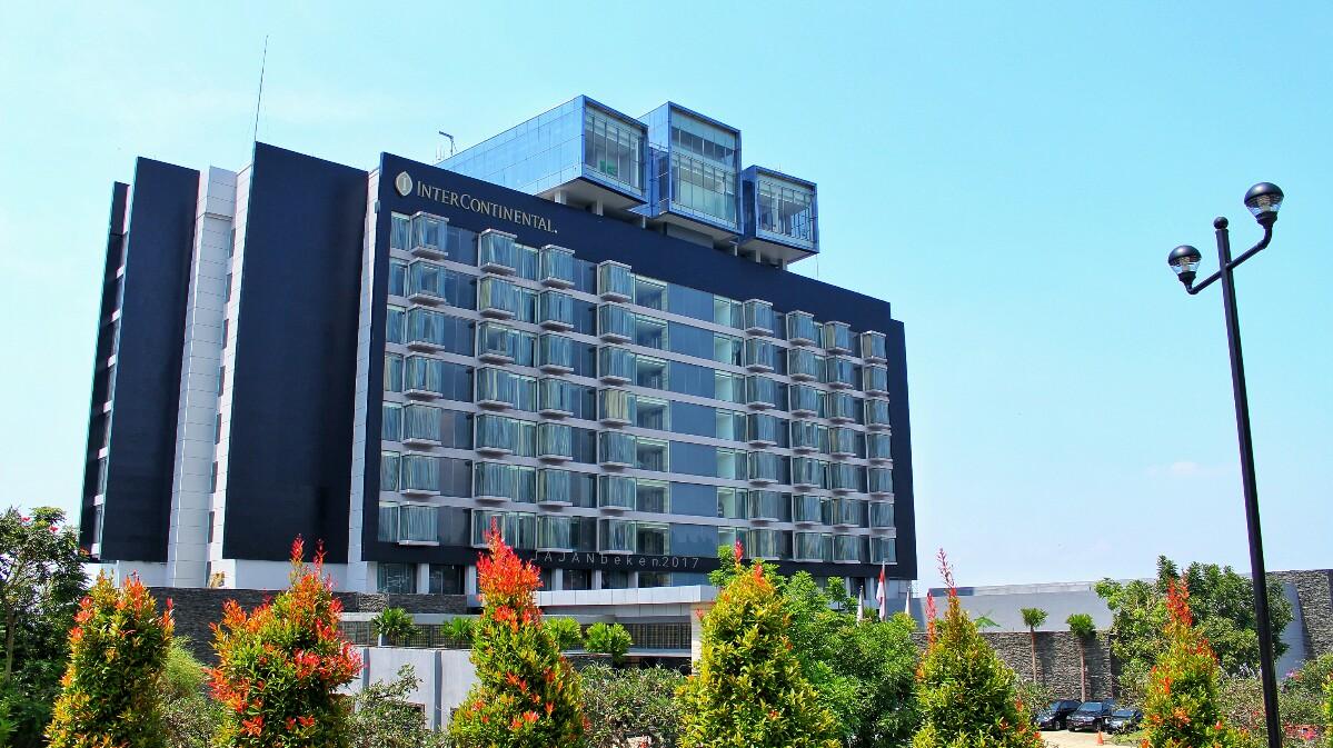 jajanbeken intercontinental hotel bandung