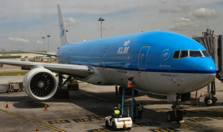 jajanbeken KLM royal dutch airlines
