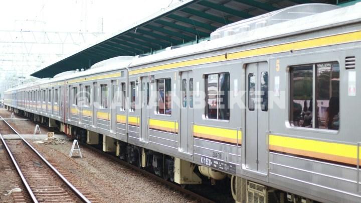jajanbeken krl commuter line tangerang