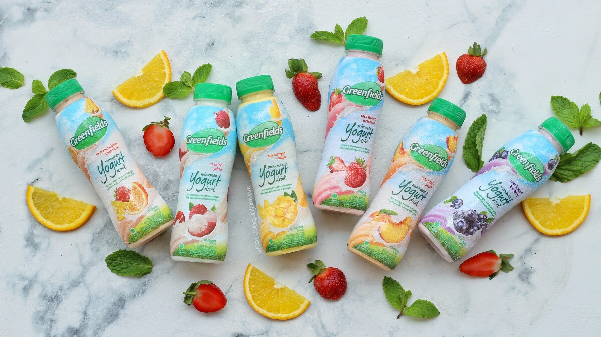 jajanbeken greenfields yogurt drink harga