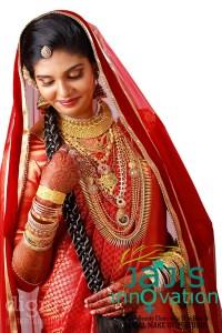 Bridal makeup in Kollam