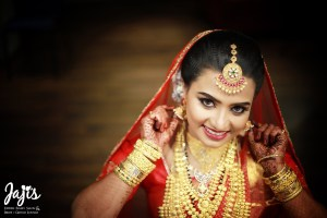 Bridal makeup in trivandrum