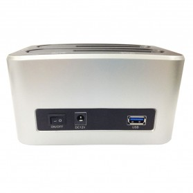 Dual SATA HDD Docking Station USB2.0 Model 329U3S - 3