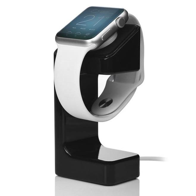 SZKOSTON Apple Watch Wireless Charging Dock Stand - V5 - Black - JakartaNotebook.com