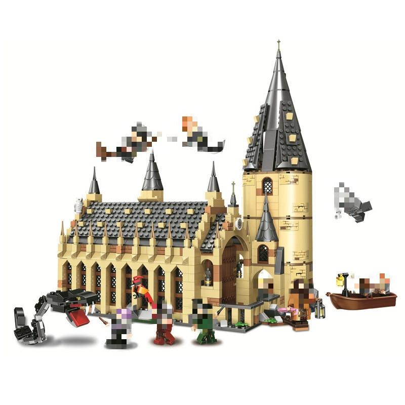 Lego Castle Harry Potter Hogwarts Building Blocks - 1205 - JakartaNotebook.com