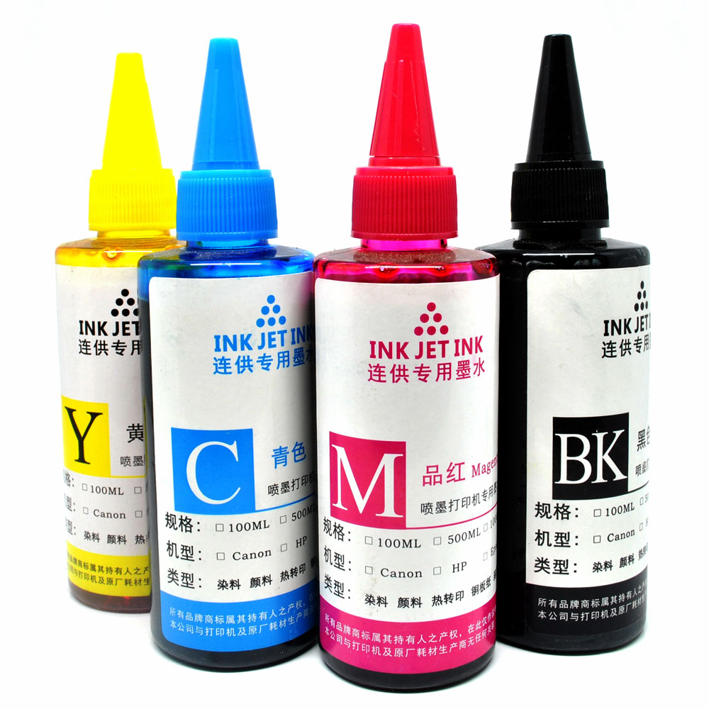 Ink Refill Bottle for Canon Dell HP Printer Ink Cartridges