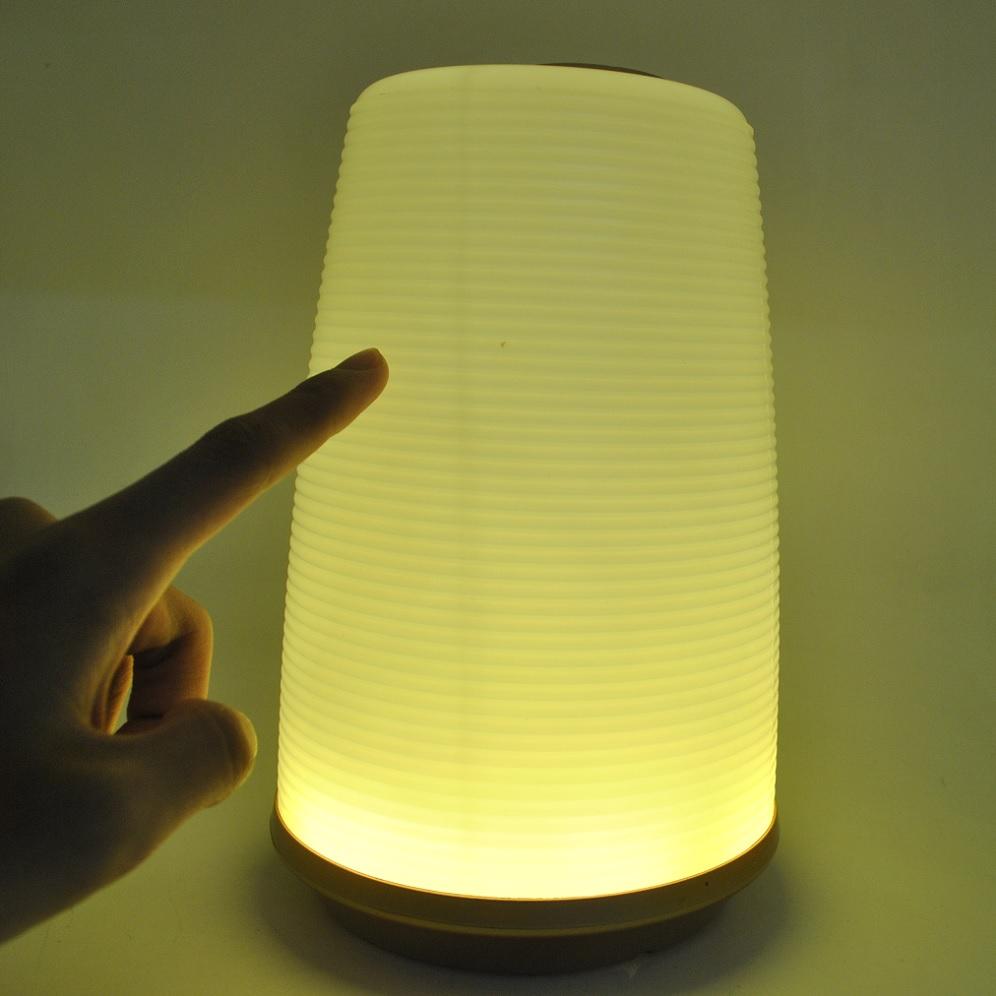 Portable 24 LED Touch Sensor Lamp Beating Light  Lampu LED  Golden  JakartaNotebookcom