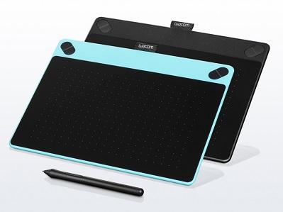 Wacom Intuos Comic Creative Pen Tablet - CTH-490 - Black - JakartaNotebook.com