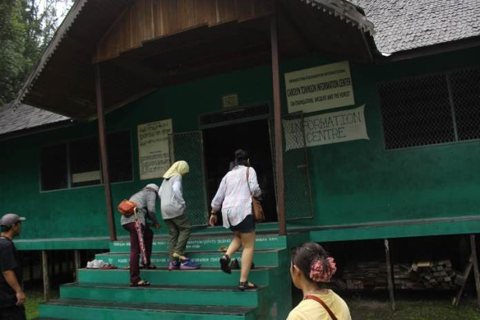 Information Centre in Camp Leakey