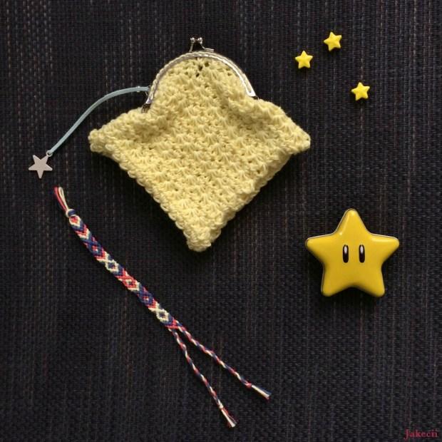 Porte-monnaie étoile CK10 - Jakecii