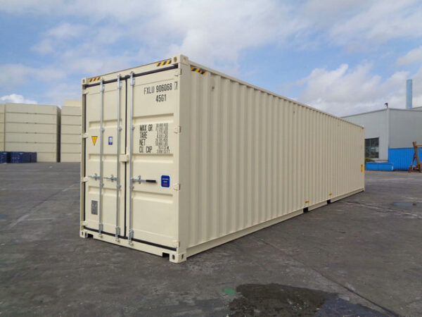 New 40ft High Cube Shipping Container - Jake Containers