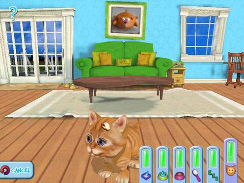 Kitty Luv Game Screenshot