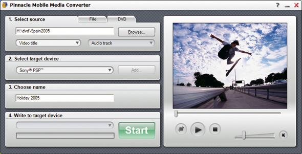 Pinnacle Mobile Media Converter