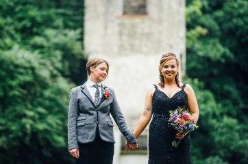 Fonmon Castle Wedding photography-130